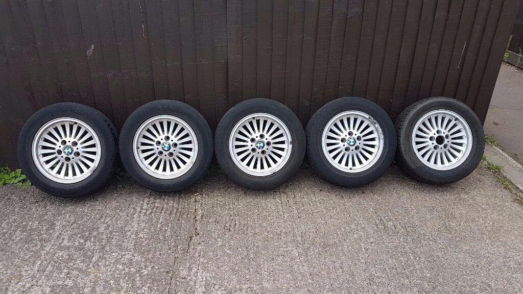bmw e39 wheels v.g.c