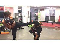 Muy Thai kickboxing personal trainer South Kensington