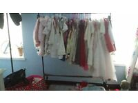 LARGE BUNDLE OF BABY GIRLS CLOTHES NEEDS TO BE SEEN CALLS AND TEX ONLY