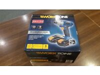 Workzone 18V Li-Ion Impact Driver - Brand New & Collection Only.