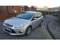 Ford Focus 1.6 Silver Estate LOW £20 TAX. Next MOT 21/03/19. Full Service History HPI Clear 2 Keys