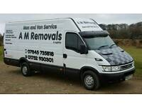 *Best Rates & Service On 1 or 2 Man Jobs *. A M Removals & Logistics. Man & Van Service.