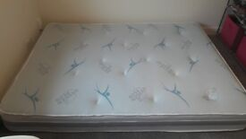 Kind size mattress almost new