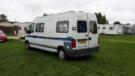 Lovely camperfor sale mot 2018 ready to use straight away come and ave a look 2000 ono