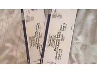 2 x Morrissey Tickets in Manchester Saturday 20th August £70