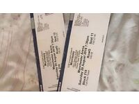 2 x Morrissey Tickets in Manchester Saturday 20th August £60