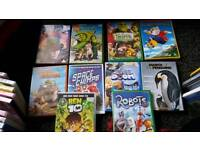 10 Children's DVD's
