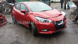 NISSAN MICRA K14 2017 2018 BREAKING SPARES PARTS AIRBAG ENGINE GEARBOX