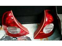 Renault clio mk2 phase 2 rear light lamps
