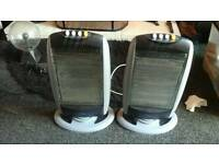 Electric halagen heaters