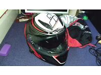 L SIZE - Nitro NRS-01 TORQUE Motorcycle Helmet