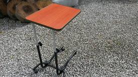 Wheeled Overchair Table