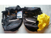 Oxford Bicycle Rear Panniers 44L, pair, brand NEW with tag, 1/2 price