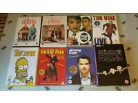 8 Comedy DVDS stand up/film/sketch