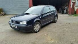 Volkswagan golf SOLD