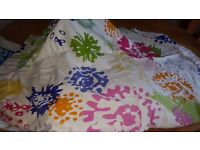 IKEA 2 single duvet covers, pillowcases and curtains £15