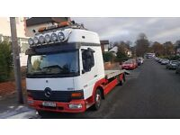 Mercedes Atego. Recovery