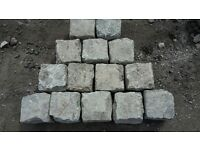 reclaimed cobbles/sets/granite/sandstone/grit stone