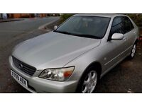 2000 'X' LEXUS IS200 2.0 'S' **IMMACULATE**