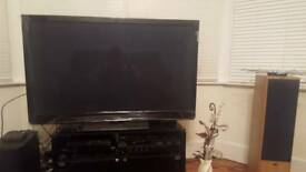 One year old Panasonic tv 50 inch