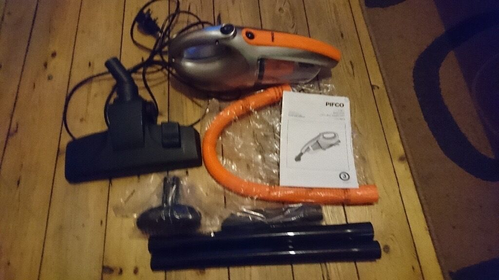 Pifco 4 In 1 Bagless Cyclonic Hand Vacuum Cleaner Home