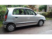 Hyundai Amica Si 2002 1 litre, Silver, Good condition , Good runner , 73K