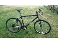 Ridgeback cyclone 21in frame hybrid bike
