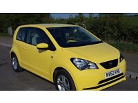 SEAT Mii 2013, excellent condition, 1 owner, full service history, airconditioned