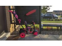 4-in-1 Deluxe Edition Trike – Pink