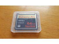 Sandisk Extreme Pro 64GB 160MB/s UDMA 7
