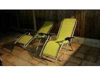 Hi gear recling chairs