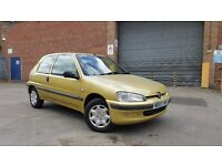 2003 Peugeot 106 1.1 Independence Full MOT Cheap Ideal First Car Corsa Saxo Clio Fiesta 206 Fiesta