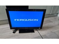 Ferguson 32 inch TV with built in Freeview and DVD player