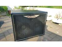 Ashdown ABM 2x10 500 watt Deep Bass Cab and cover