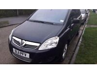 Vauxhall Zafira 1.8l Elite 2011 Full Service History and MOT til June 2017