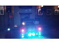 full mobile dj equipment setup for sale