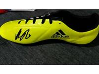 SIGNED FOOTBALL BOOT BY ROGIC OF CELTIC FC