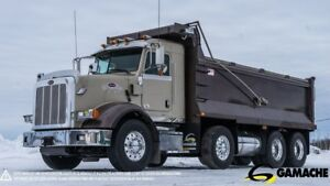 2013 PETERBILT 365 12 WHEEL TWIN STEER DUMP TRUCK
