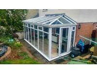 Large conservatory. Very good condition.