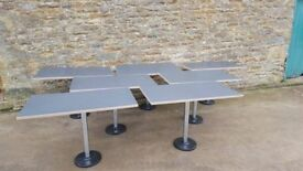 grey top table (job lot)