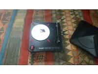 Numark PT-01 Scratch + Jesse Dean Fader + Qbert Baby Seal (barely used)