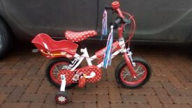 HALFORDS MINNIE MOUSE BIKE