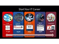 CompTIA A+, CCNA(R&S), CCNA(Security) and MCSA Server 2012 Training Course
