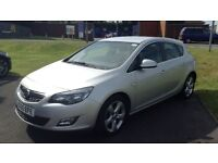 2010 VAUXHALL ASTRA 1.6 SRI 5 DOOR NEW SHAPE HPI CLEAR LONG MOT FULL SERVICE HISTORY CRUISE CONTROL+