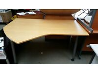 Curved Office Table