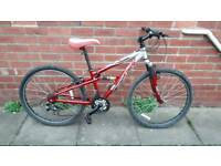 Teen's/small Adults Apollo FS26. 14 inch aluminium Frame. Good condition ready to ride