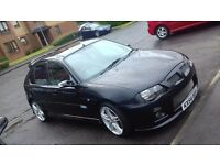 mg zr 2ltr turbo. low milage ,good condition , full years mot