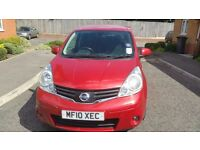 Nissan Note (TEKNA) Automatic, Full service History (6 Nissan stamps)! CAT C, £3,499 only!!