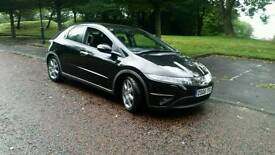 2006 Honda Civic Sport Vtec semi auto hpi clear 12 months mot runs and drives well