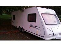 2009 elddis explore 596 6 birth caravan twin Axel